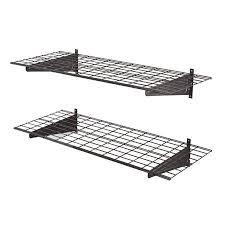 muscle rack heavy duty 48 wall shelf 2