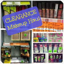 clearance makeup haul from walgreens cvs