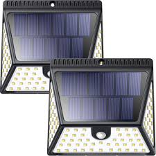 Solar Light Packs 2 Packs Super Bright Waterproof 82 Leds Solar Motion Sensor Lights Outdoor 25 89 Amazon Free Shipping