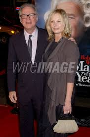 Barry Levinson with his wife Diana Rhodes during Man of the Year World... |  WireImage | 105821450