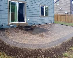 how to lay pavers over existing concrete patio designs