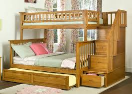bunk bed with trundle and stairs. Brilliant Bunk Bunk Beds With Trundle And Stair Drawer In Bed Stairs V