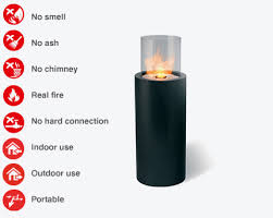 totem commerce portable fireplaces