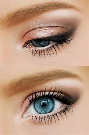 try this natural eye makeup look to make your blue eyes subtly pop go to beauty