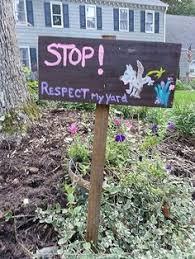 No Dog Peeing Be Respectful  Yard Sign Standard   Jet com Pinterest