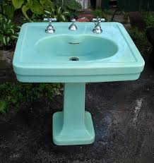 spring green 1930s kohler sink epic too bad it s super pricy and