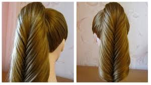 Tuto Coiffure Simple Queue De Cheval Originale Fausse Tresse