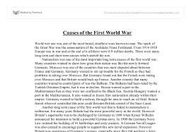 sample ww essay causes josh pelzthe conflicts of the thirty years warsunday 30 1999 the thirty years war was inevitable