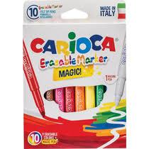 <b>Фломастеры Carioca Erasable</b> смываемые 10 шт купить с ...