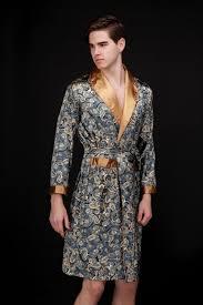 Sleepwear Robes Pyjamas Night Dress Men S Bathrobe Oriental Kaftan