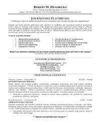 Apartment Maintenance Technician Resumes Airfield Electrician Sample Resume Podarki Co