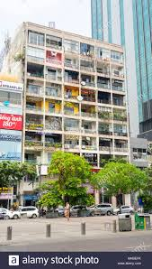 Iconic Apartment Block Full Of Coffeeshops And Boutiques On Nguyen