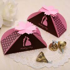 Gift Box Decoration Ideas Bride And Groom Wedding Candy Box Pearl Paper Folding DIY Gifts 84