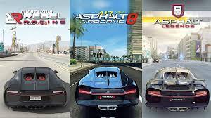 Legends on the 15th of january! Bugatti Chiron Asphalt 9 Legends X Asphalt 8 Airborne X Rebel Racing Youtube