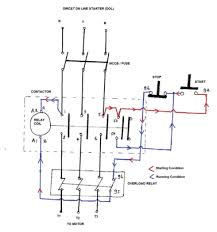iec wire diagram direct on line starter electrical notes articles direct on line starter electrical notes articles working