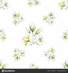 эскиз нежные цветы векторное изображение Nikapva 158090654