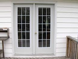 exterior door with window and dog door. exterior french doors with window above door and dog