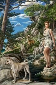 Freya Con Alas De Alcon In Roman Art Diana Usually Appears As A Huntress With Bow And Arrow 9
