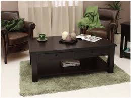coffee table outstanding black wood coffee table glass