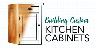 Building Custom Kitchen Cabinets Tips Techniques From Woodsmith