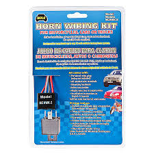 wolo horn wiring kit for cars trucks motorcycles mchwk 2 advance horn wiring kit for cars trucks motorcycles