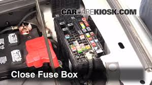 blown fuse check 2011 2014 ford edge 2013 ford edge se 2 0l 4 6 replace cover secure the cover and test component