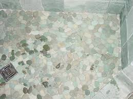 ungrouted rocks some are wet