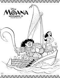 Disney Moana Coloring Pages This Mamas Life