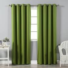 best home fashion inc solid blackout thermal grommet curtain panels reviews wayfair