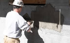 exterior tile installation on walls