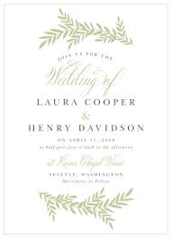 Sample Of Weeding Invitation Wedding Invitations Match Your Color Style Free