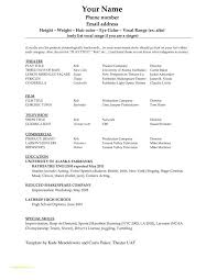 Nurses Resume Format With Image Result For Basic Resume Template