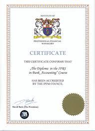 МСФО в банках и кредитных организациях курс обучения  аккредитационный сертификат на предмет МСФО для банков