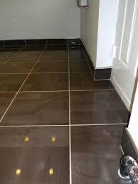Room Skirting Designs Tiled Skirting Board With Chrome Trim Tile Floor Tiles