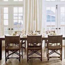 elegant dining room table at the beach beach house dining rooms coastal living mobile