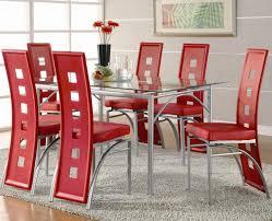 contemporary glass top dining room sets. Coaster Los Feliz Contemporary Metal Dinner Table Fine Glass Top Dining Room Sets