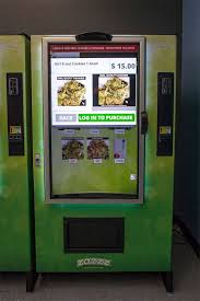 Zazzz Vending Machine Interesting America's First Zazzz Marijuana Vending Machine Opens In Seattle