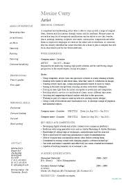 Tattoo Artist Sample Resume Fantastic Template How To Yomm