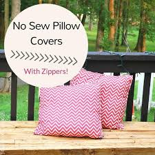 Sewing Pillow Covers With Zipper
