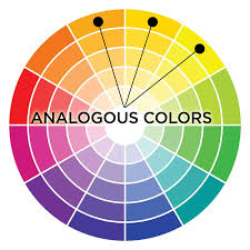 Example of analogous colors