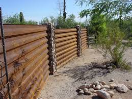 corrugated fence spaces rustic with steel fencing corrugated metal corten fence