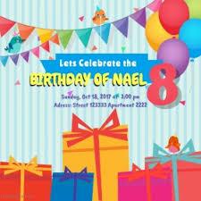 Invitation Templates Birthday 5 500 Customizable Design Templates For Birthday Invitation