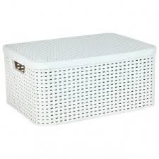 <b>Корзина</b> для белья <b>Curver</b> 03618-885 <b>Rattan</b> Style Box M, cream ...