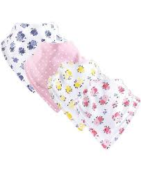 One Size Unisex Luvable Friends Baby Bandana Bibs Floral Pink 4 Pack