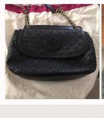 Tory Burch Marion Quilted Saddle Bag handbag purse crossbody black ... & Image is loading Tory-Burch-Marion-Quilted-Saddle-Bag-handbag-purse- Adamdwight.com