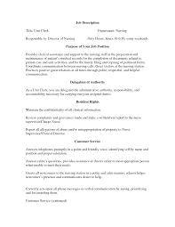 Clerk Job Description Resume cover letter deli clerk job description deli clerk job description 56