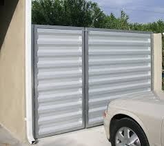 corrugated metal fence cost