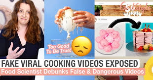 Find your friends on facebook. Fake Cooking Videos Food Scientist Exposes Danger Misinformation Girlstyle Singapore