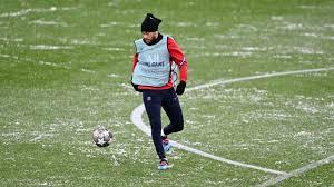 Manchester City-PSG vai jogar-se com muita neve no Etihad Stadium