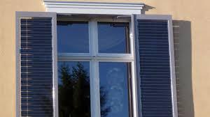 Neue Solartechnik Strom Aus Fensterläden Wissen Swr2 Swrde